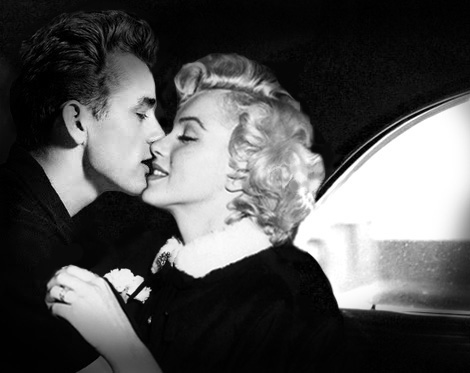Marilyn and Dean by Brailliant